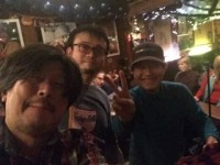 Group selfie by Gaku with Masuo and Hirakawa