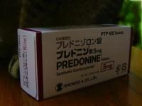 プレドニンの箱